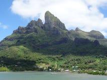 Isla de Bora Bora imagen de archivo libre de regalías