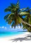 Isla de Boracay. Playa blanca. Foto de archivo