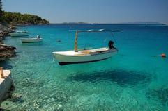 Isla de Brac en Croatia Foto de archivo