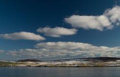 Isla de Bressay, una de las Islas Shetland Foto de archivo