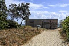 Isla de Bribie - Woorim CORRIÓ la estación 4 foto de archivo libre de regalías