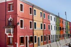 Isla de Burano, Venecia Foto de archivo libre de regalías