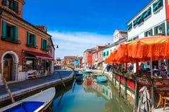 Isla de Burano, Venecia, Italia Foto de archivo