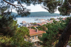 Isla de Burgaz Foto de archivo libre de regalías