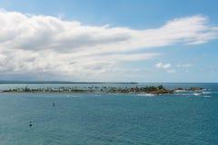 Isla de Cabras imagem de stock royalty free