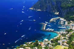 Isla de Capri imagen de archivo