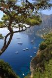 Isla de Capri Imagen de archivo libre de regalías