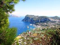Isla de Capri Foto de archivo libre de regalías