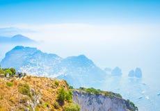 Isla de Capri, Italia Fotos de archivo libres de regalías