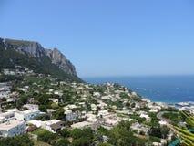 Isla de Capri, Italia Fotos de archivo