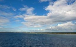 Isla de Catalina - Playa de la isla Catalina e de La Romana - playa y mar tropicales del Caribe fotografía de archivo libre de regalías