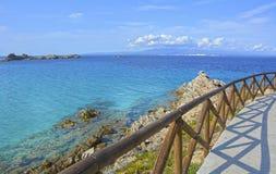 Isla de Cerdeña, Italia fotografía de archivo