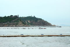 Isla de China Penglai Imagen de archivo libre de regalías