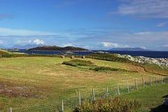 Isla de Coll, Escocia fotografía de archivo