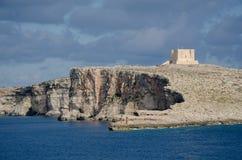 Isla de Comino Fotografía de archivo
