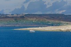 Isla de Comino Fotos de archivo