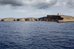 Isla de Comino, Malta Imagenes de archivo