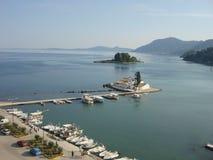 Isla de Corfú, Grecia Imagen de archivo