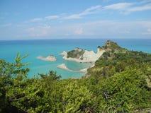 Isla de Corfú, Grecia Imagenes de archivo
