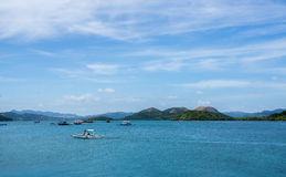 Isla de Coron, las Filipinas Foto de archivo