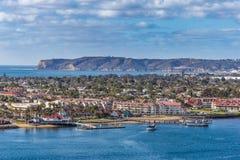 Isla de Coronado, California Imágenes de archivo libres de regalías