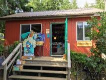 Isla de Cortes, Columbia Británica, Canadá - 6 de julio de 2018: Un smal foto de archivo libre de regalías