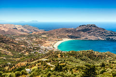 Isla de Creta en verano Foto de archivo libre de regalías