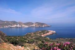 Isla de Crete en el resorte imagen de archivo