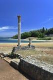 Isla de Croatia - de Brijun fotografía de archivo