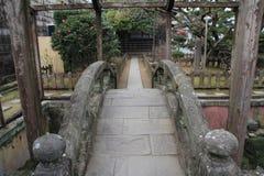 Isla de Dejima en Nagasaki Foto de archivo
