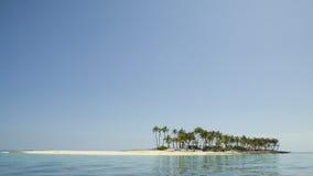 Isla de desierto Foto de archivo libre de regalías