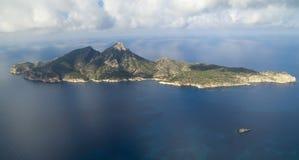 Isla de Dragonera Fotos de archivo libres de regalías