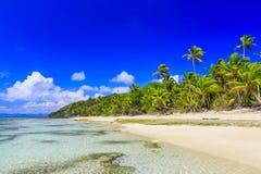 Isla de Dravuni, Fiji imágenes de archivo libres de regalías