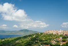 Isla de Elba, Capoliveri fotos de archivo libres de regalías