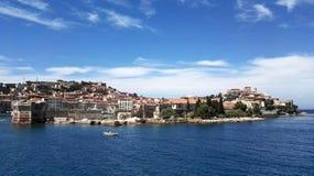 Isla de Elba en Toscana-Italia Imágenes de archivo libres de regalías