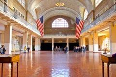Isla de Ellis interior, Nueva York, NY Fotografía de archivo libre de regalías