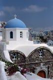 Isla de Fira Santorini, Grecia Imagenes de archivo