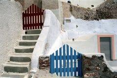 Isla de Fira Santorini, Grecia Imágenes de archivo libres de regalías