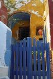 Isla de Fira Santorini, Grecia Imagen de archivo