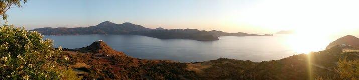 Isla de Folegandros Imágenes de archivo libres de regalías