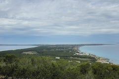 Isla de Formentera Imagen de archivo libre de regalías