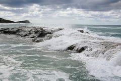 Isla de Fraser, la UNESCO, Australia Imagen de archivo