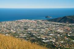 Isla de Gallinara Fotos de archivo libres de regalías