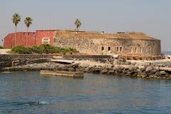 Isla de Goree Imágenes de archivo libres de regalías