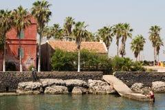 Isla de Goree Fotografía de archivo libre de regalías