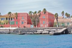 Isla de Goree, Senegal Fotos de archivo libres de regalías