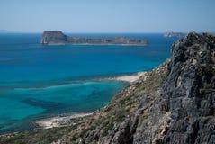 Isla de Gramvousa Imagenes de archivo