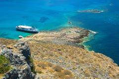 Isla de Gramvousa, Crete, Grecia fotos de archivo libres de regalías