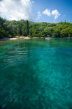 Isla de Grecia - de Lefkada - de Meganisi Fotos de archivo
