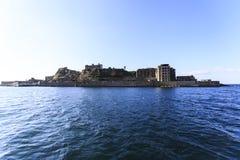Isla de Hashima Fotos de archivo libres de regalías